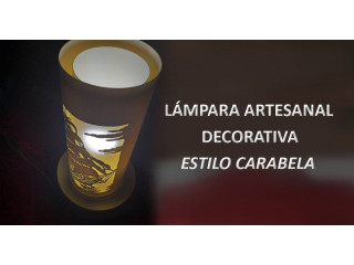 Lampara artesanal estilo CARABELA