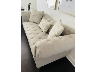 Sofa beige usado