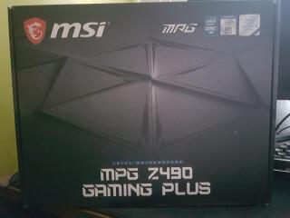 Motherboard MSI MPG Z490 Gaming Plus