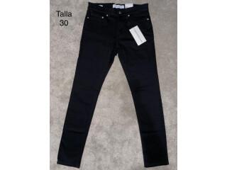 Calvin Klein Jeans Mujer Talla 30 color negro