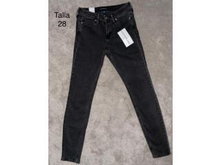 Calvin Klein Jeans Mujer talla 28 color negro