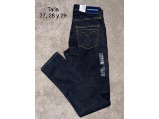 Calvin Klein Jeans Mujer tallas 27,28 y 29 color azul marino