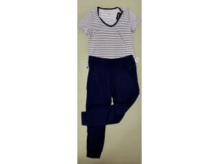 Pijama para mujer de pantalón y camisa manga corta marca NÁUTICA