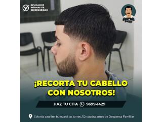 Veni y corta tu pelo con nosotros