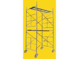 Andamio Metálico Tubular (1 Módulo: de 2 Crucetas y 2 Marcos)