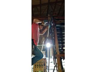 Servicios de mecanizado y estructuras metalicas.