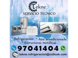 Técnicos de refrigeración y aire acondicionado