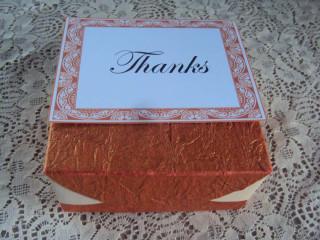 Invitaciones y cajas para dulces o regalos