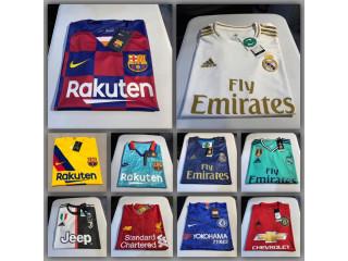 Camisas de Equipos de Futbol